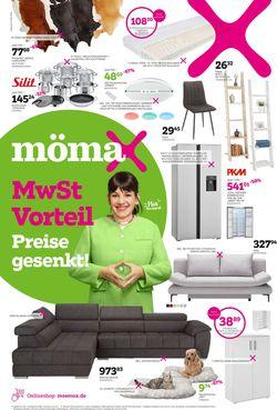 Prospekt Mömax vom 03.08.2020