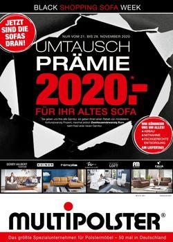 Prospekt Multipolster BLACK WEEK 2020 vom 21.11.2020
