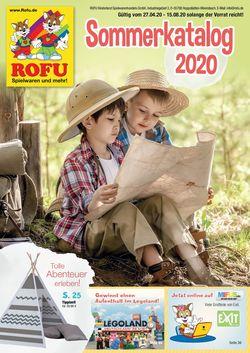 Prospekt ROFU Kinderland vom 27.04.2020