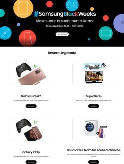 Prospekt Samsung - Black Friday 2020 vom 12.11.2020