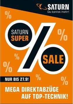 Prospekt Saturn vom 13.09.2020