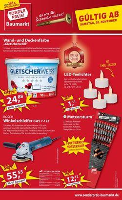 Prospekt Sonderpreis Baumarkt Cyber Monday 2020 vom 28.11.2020
