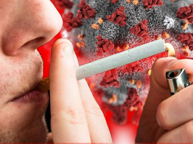 Rauchen erhöht das Risiko auf eine Infektion mit dem Coronavirus